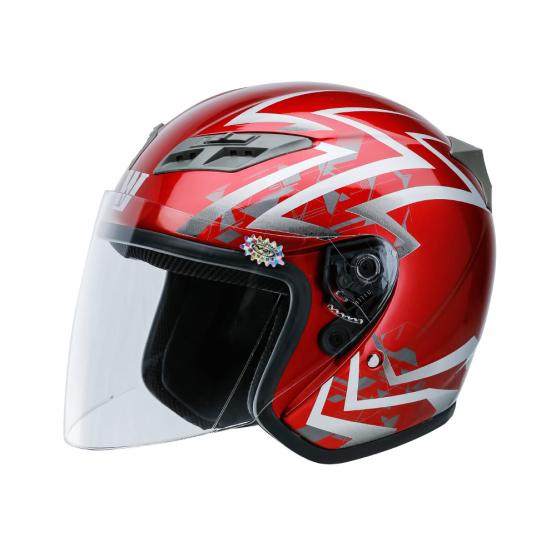 豪爵GB 811国标头盔-A类半盔(T02)