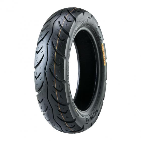 豪爵踏板车90/90-10 CY104 TL轮胎(真空胎)